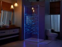 LED-Duschwand TECLA - 120X200cm