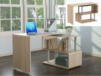 Schreibtisch INVENTO - Tischplatte um 360° schwenkbar