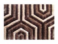 3D-Hochflorteppich 100% Polyester GRANSA - 160 x 230 cm