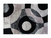 Teppich 100% Polyester LIRMA - 160 x 230 cm