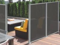 Sichtschutz Aluminium OSACO - 130x170cm