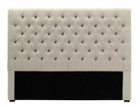 Kopfteil Bett gepolstert Aurele - Breite: 162 cm