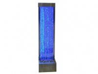 Sprudelnde Wasserwand mit bunter LED-Beleuchtung Blennie - Höhe: 150 cm