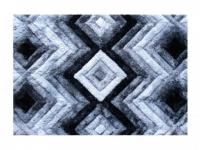 3D-Hochflorteppich 100% Polyester APICA - 160 x 230 cm