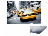 Kunstdruck Acrylglas Yellow Cab - 80x60cm