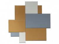 Wandspiegel MERLIN - 80x80 cm