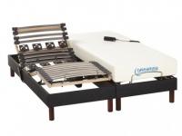 Matratzen elektrischer Lattenrost 2er-Set mit Motor Jason - 2x 80x200 cm