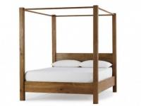 Himmelbett Holz COPELIA - 160x200 cm