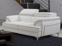 2-Sitzer Sofa Voltaire - Weiß