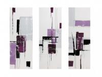 Kunstdruck Leinwand Cascade - Triptychon (Je 90x30cm)