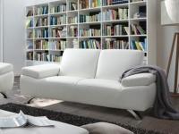 Sofa 2-Sitzer Polka - Weiß