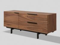 TV-Möbel TAYRON - 130cm - 2 Türen & 2 Schubladen