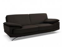 Ledersofa 3-Sitzer Emotion - Luxusleder - Braun