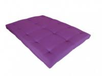 Futonmatratze Teflonbeschichtung Shiva - 140x190cm - Violett - Härtegrad 2
