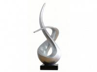 Statue Marmor Sandra - Silber