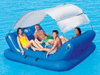 Bestway Schwimminsel Badeinsel CoolerZ Rock-N-Shade CARORA