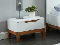 Nachttisch Holz SEDNA - 1 Schublade