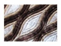3D-Hochflorteppich 100% Polyester MARLA - 160 x 230 cm