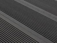 30 WPC-Terrassendielen Tera II (9, 6 m²) - Schwarz