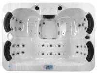 LED-Whirlpool Spa Themise II - 4 Plätze - Weiß