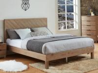 Bett Holz MERIBEL - 140x190 cm