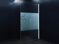 Duschtrennwand Seitenwand italienische Dusche Paulina - 140x190cm