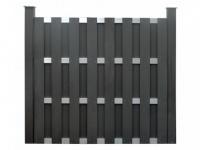 Gartenzaun Sichtschutz CUYABA - 180x180 cm - Anthrazit