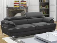 3-Sitzer Sofa Voltaire - Grau