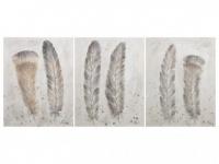 Ölgemälde Triptychon AERE - 50x70cm