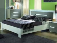LED Bett mit Kopfteil GUILHEM - 160x200 cm