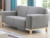 2-Sitzer-Sofa Stoff Obrian - Grau
