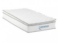 Taschenfederkernmatratze mit Übermatratze Altier - 80x200cm - Härtegrad 3