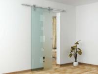 Glasschiebetür Stahl Valdie - Höhe: 205 cm