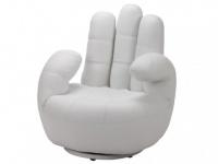 Fingersessel Catchy - Drehbar - Weiß