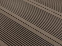 3 WPC-Terrassendielen Tera II (0, 96 m²) - Braun