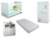 Sparset Babyzimmer: Kollektion Pipou (4 tlg.)