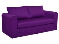 Schlafsofa Stoff Donau II - Violett