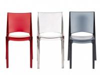 Stuhl 2er-Set Helly - Rot