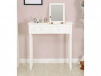 xxl schminktisch kosmetiktisch frisierkommode wei inkl spiegel vintage gross kaufen bei. Black Bedroom Furniture Sets. Home Design Ideas