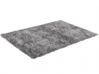 Hochflor-Teppich Elixir - Grau - 120x170 cm