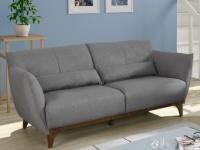Sofa 3-Sitzer Stoff Luanda - Grau