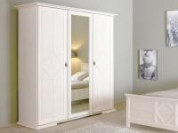 Kleiderschrank mit Spiegel Blanka - 3 Türen