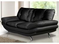 2-Sitzer-Sofa Forrest - Schwarz