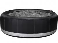 Whirlpool aufblasbar Bcool III - 6 Personen - Schwarz