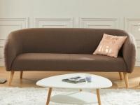 3-Sitzer-Sofa Stoff PENNY - Braun