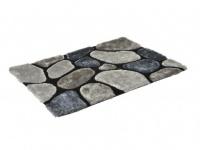 Hochflor-Teppich Pietra - Grau - 120x170cm