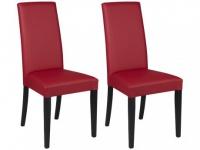 Stuhl 2er-Set Tacoma - Rot