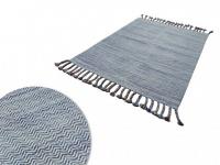Teppich Baumwolle ELOISE - 140 x 200 cm
