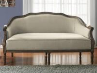 3-Sitzer-Sofa Stoff Barock Isolde - Beige