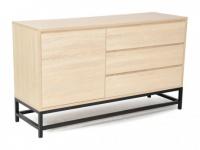 Sideboard NEMIO - 1 Tür & 3 Schubladen